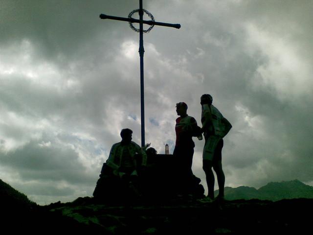 Am Passo Manghen