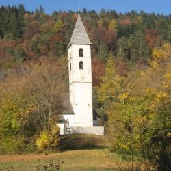 Rennradführer Südtirol: Fennberg/ Kirche in Unterfennberg