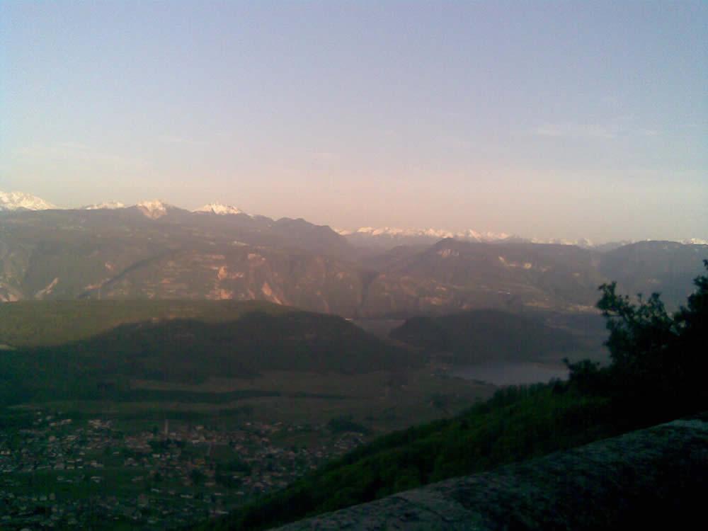 Mit dem Rennrad auf den Mendelpass / Südtirol