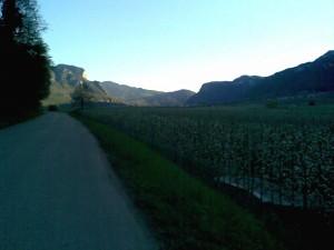 Mit dem Rennrad um den Kalterersee / Südtirol