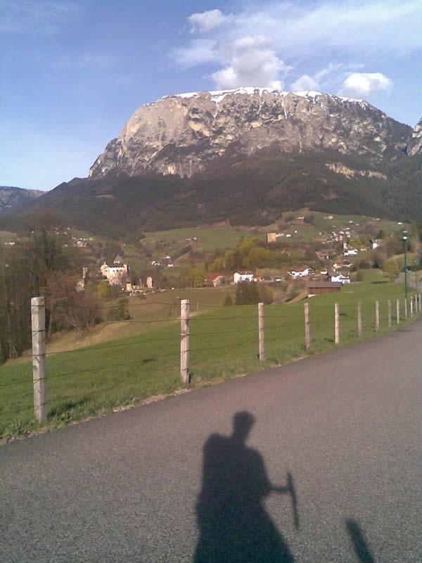 Schlern mit dem Rennrad / Südtirol