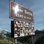 Mit dem Rennrad von Wolkenstein über das Sellajoch nach Canazei