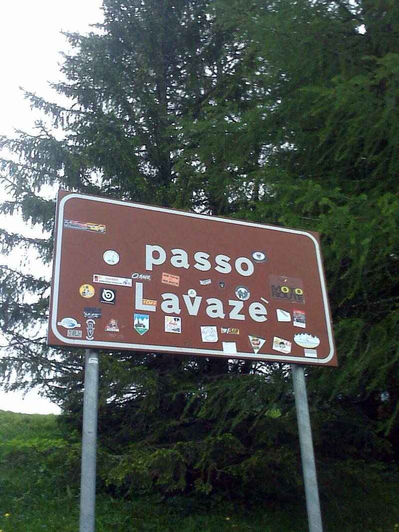 Dolomiten mit dem Rennrad über das Lavazejoch