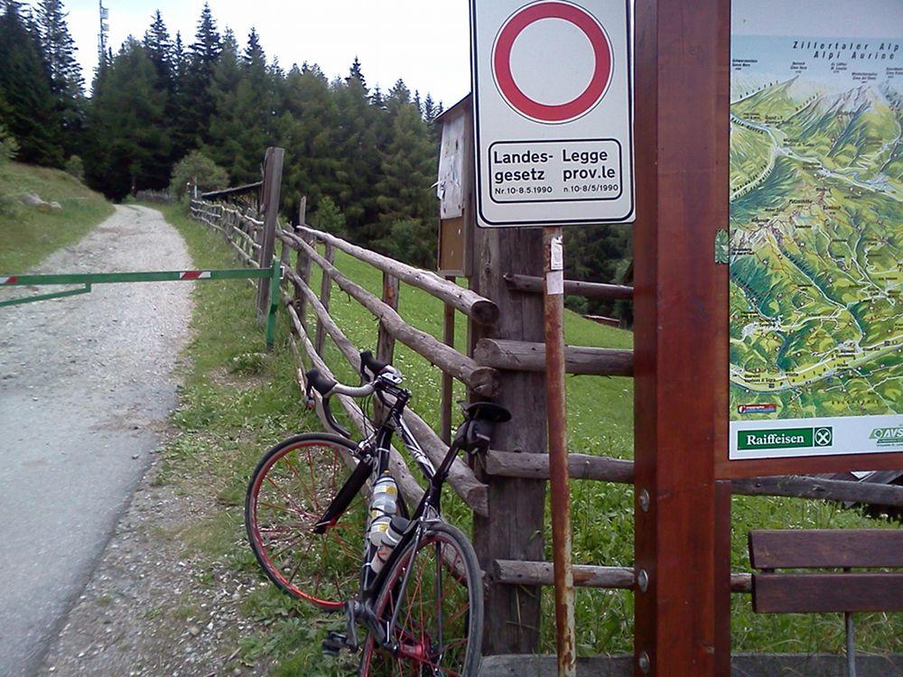 Rennradtour im Pustertal / Südtirol