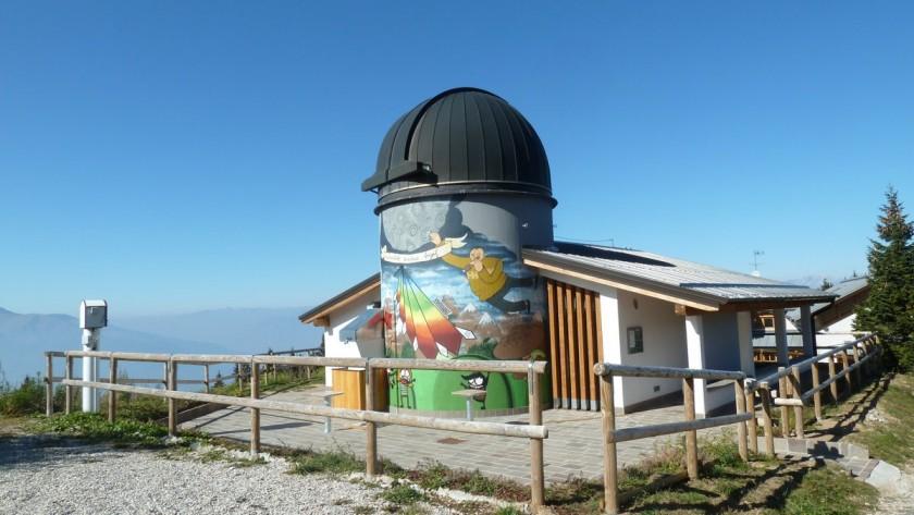 Monte Zugna: Observatorium