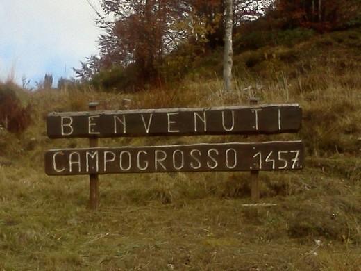 Rennradpass Passo Campogrosso (1457m)