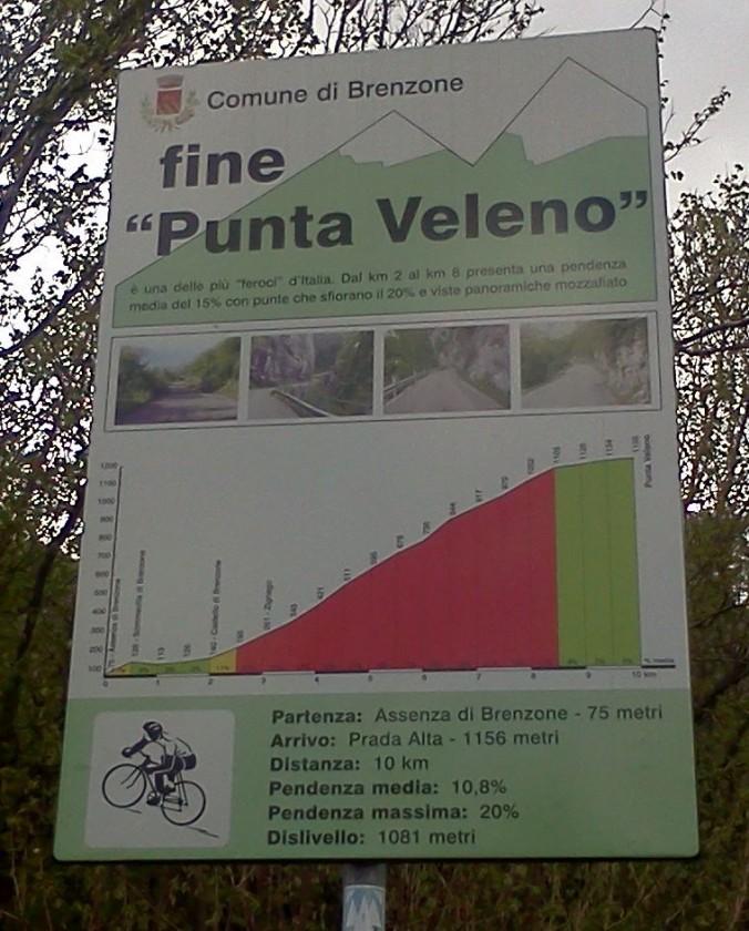 Punta Veleno am Gardasee