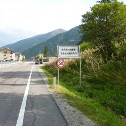 Transalp Bozen - Arget: Brennerpass