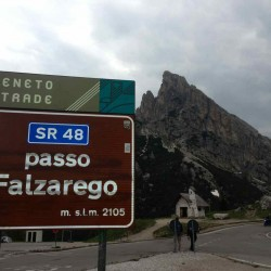 Passo Falzarego (2105m)