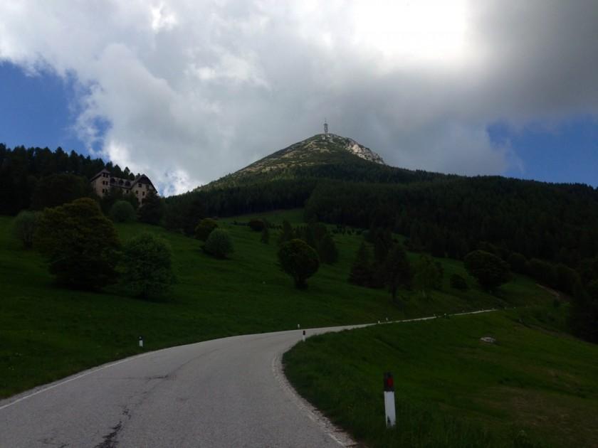 Der Monte Bondone Gipfel