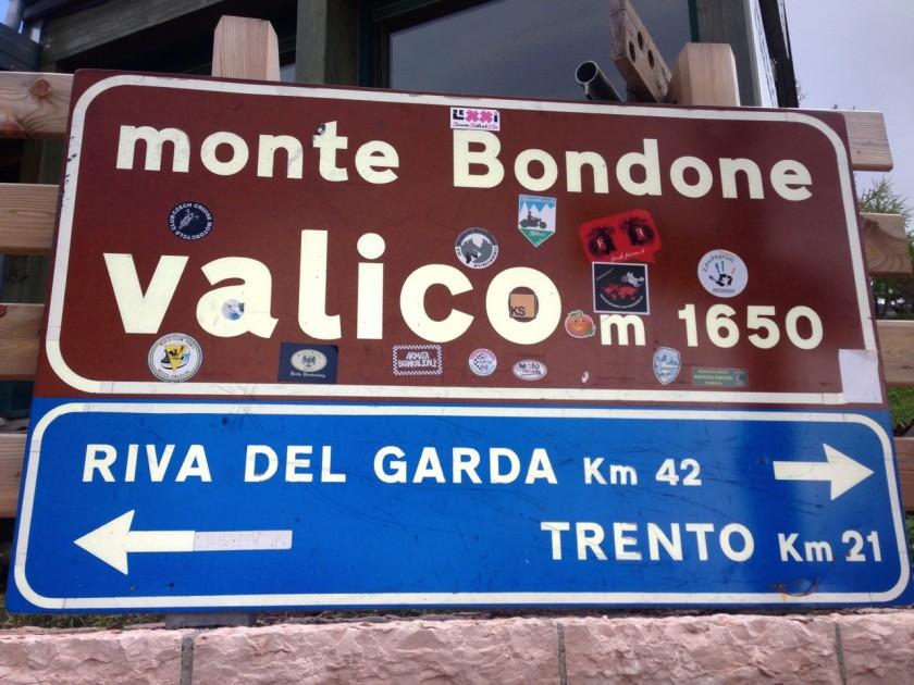 Mit dem Rennrad zum Monte Bondone (1650)