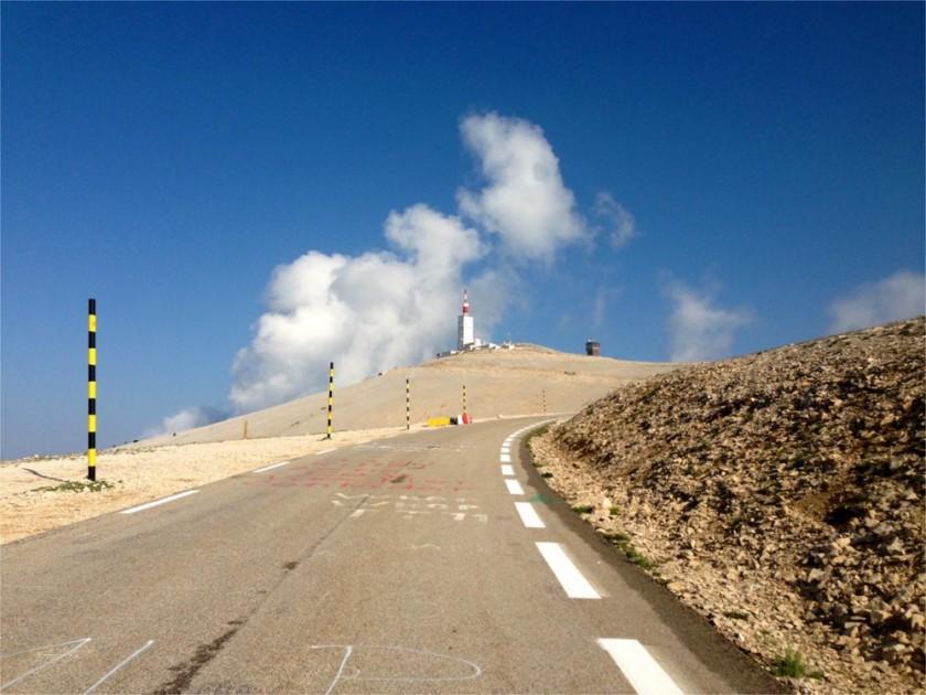 Mont Ventoux nach dem Chalet Reynard