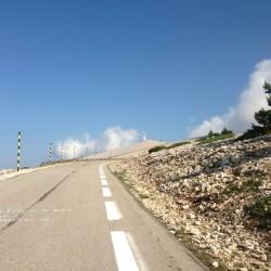 Auffahrt Mont Ventoux von Bedoin bzw. Sault