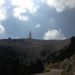 Auffahrt Mont Ventoux von Malaucène