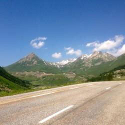 Mit dem Rennrad von Briancon zum Col du Lautaret