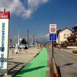 Mit dem Rennrad am Col du Montgenevre