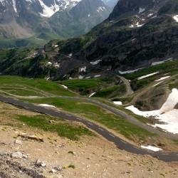 Mit dem rennrad über die Südanfahrt zum Col du Galibier