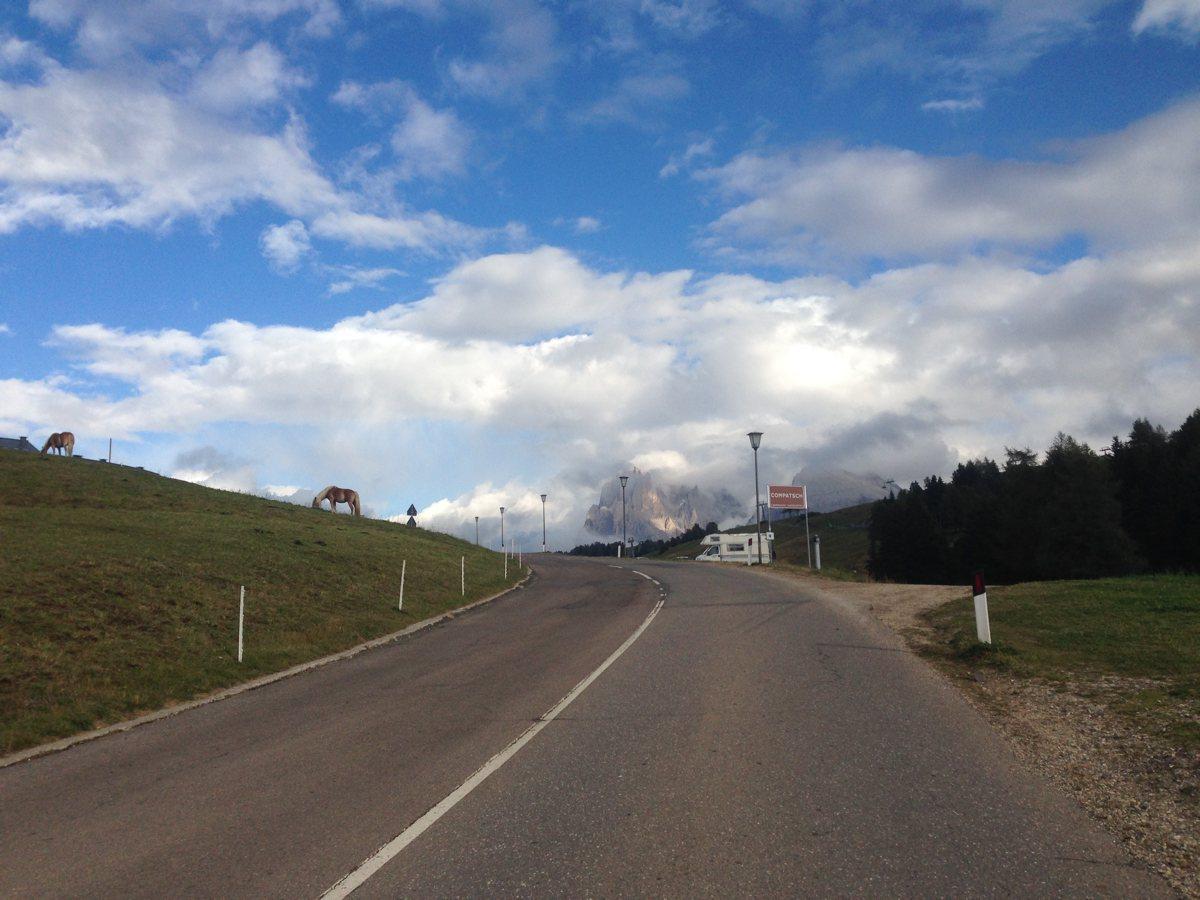 Rennradtour Eisacktal / Finale Seiseralm