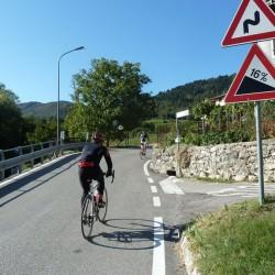 Rennradführer - Trentino - Süd / Passo San Giovanni – Bocca del Creer – Bocca di Navene – Passo del Telégrafo / 16%