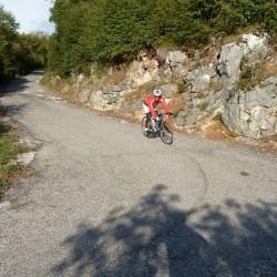 Rennradführer - Trentino - Süd / Passo San Giovanni – Bocca del Creer – Bocca di Navene – Passo del Telégrafo / Abfahrt Punta Veleno