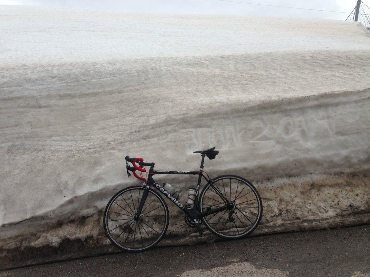 Jaufenpass - Penserjoch / Auch genug Schnee