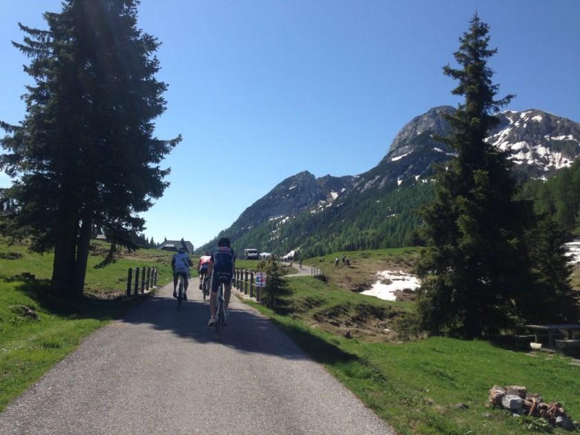 Super Giro Dolomiti 2014 / Lanzenpass