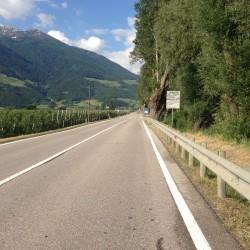 Rennradtour um den Ortler / Nach Prad