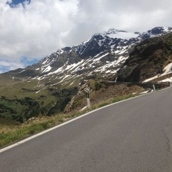 Rennradtour um den Ortler / Nordrampe Gavia