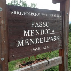 Rennradtour um den Ortler / Passo Mendola