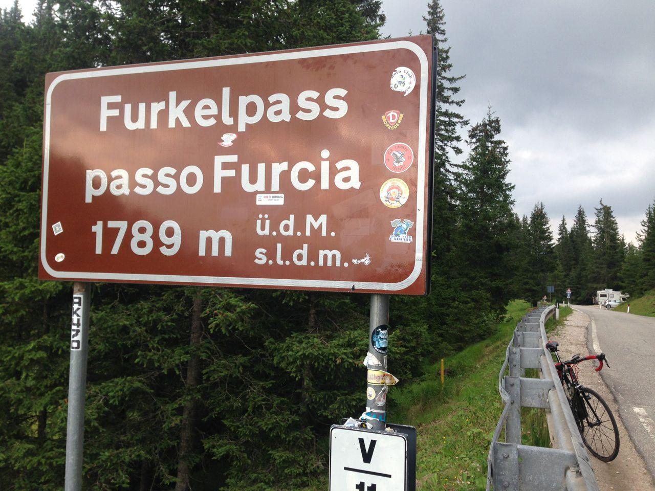Passo Furcia (1789m)