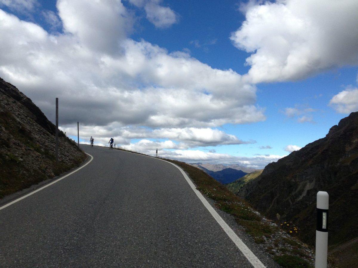 Endura Alpen Traum 2014: Kurz vor dem Umbrailpass