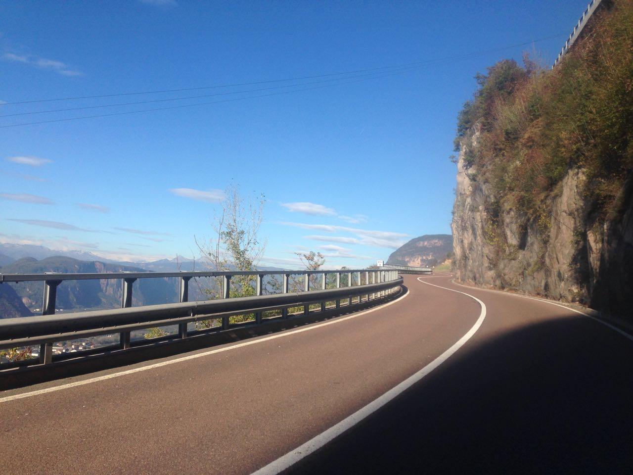 Passo San Lugano: Etschtal