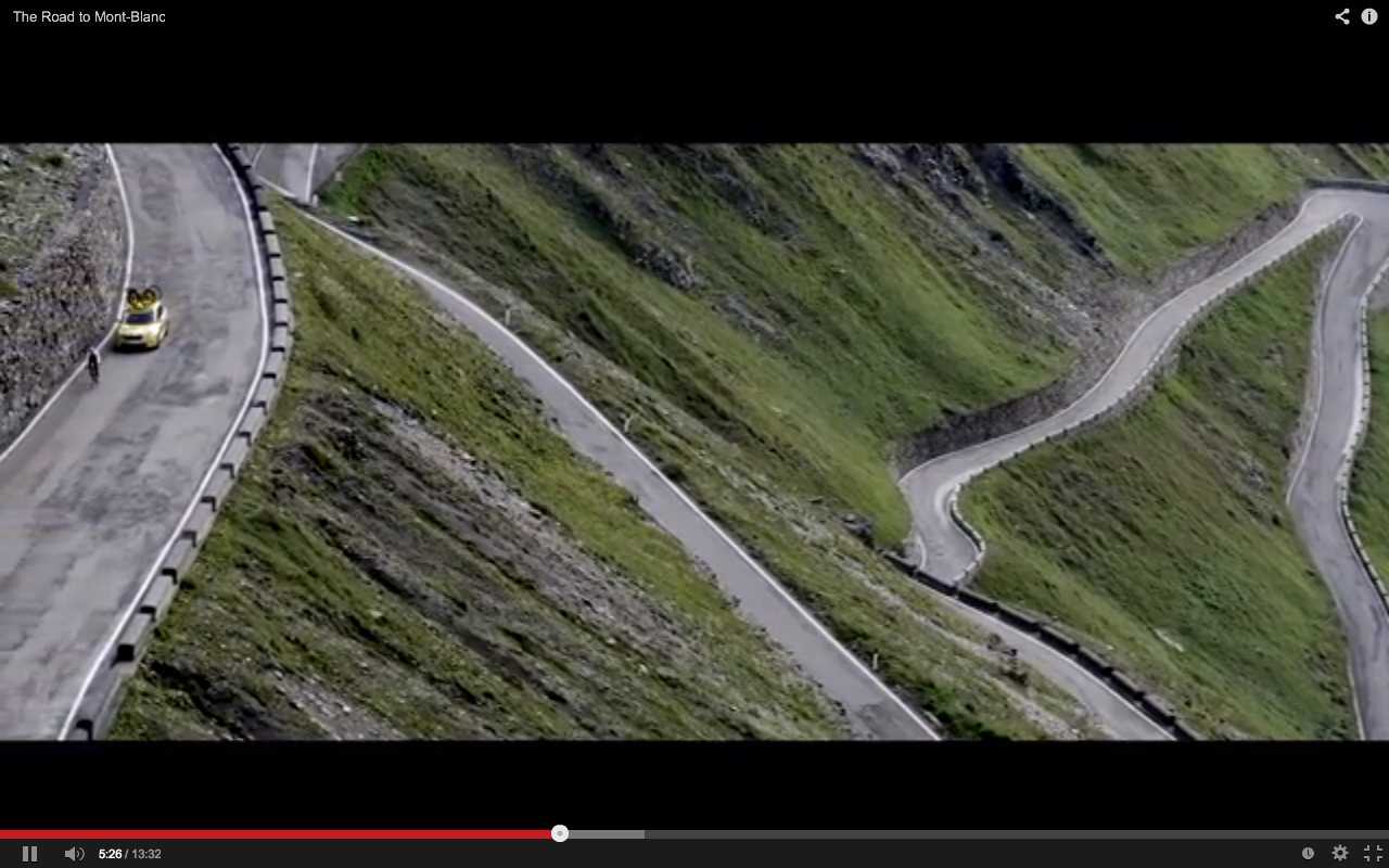 Video The Road to Mont-Blanc