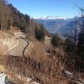 Mendel Winterfahrt / Serpentinen