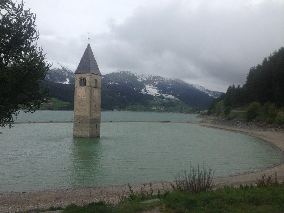 Radtour Reschen - Bozen / Graun