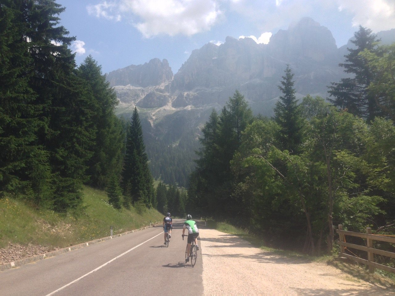 Rennradtour Nigerpass - Karerpass / Dolomiten