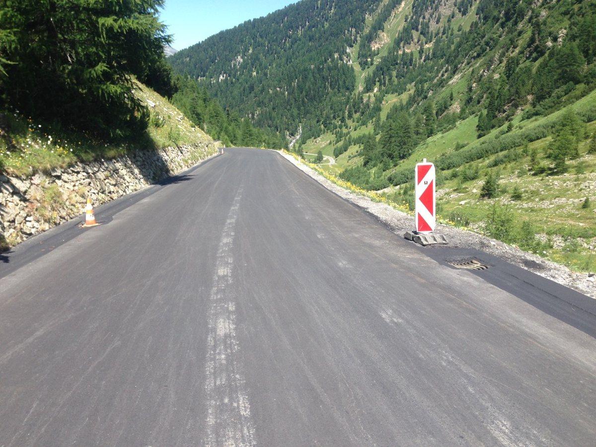 Passo Stelvio - Passo Umbrail / Kein Schotter mehr