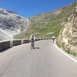 Passo Stelvio - Passo Umbrail / Kehre 25