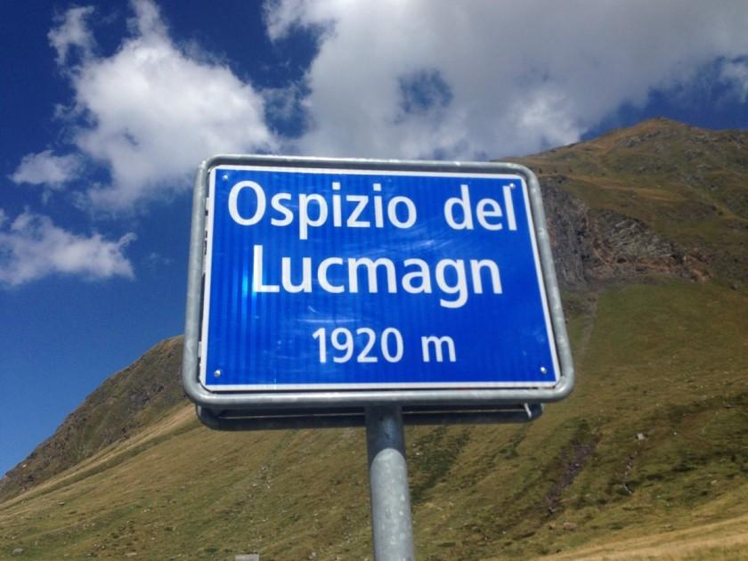 Alpenbrevet Platin / Lukmanierpass (1920m)