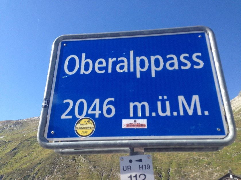 Alpenbrevet Platin / Oberalppass (2046m)