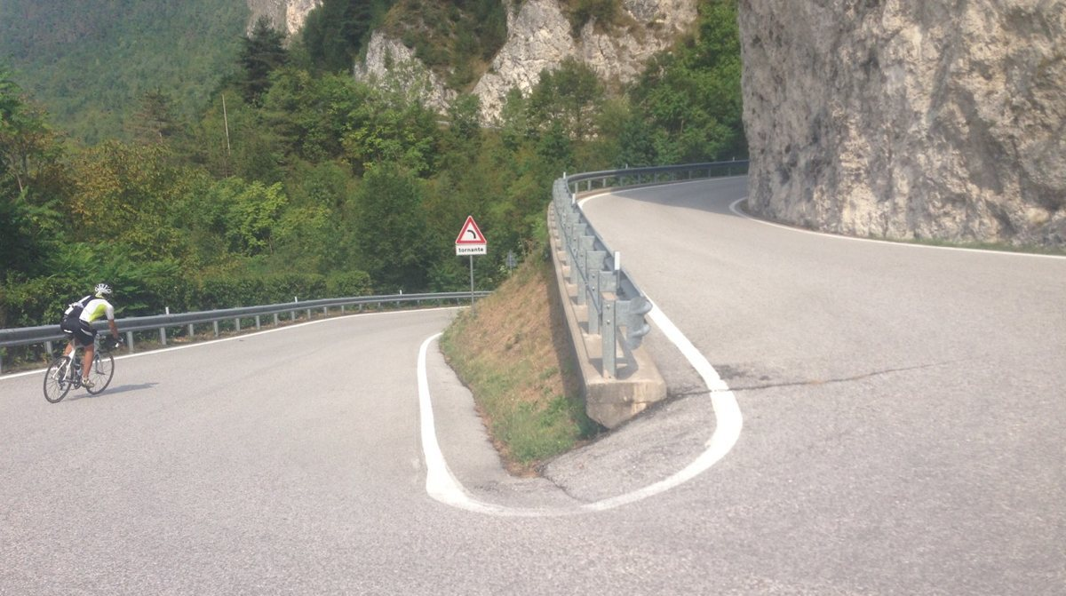 Rennradtour Passo Brocon / Serpentine