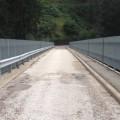 Rennradtour Passeiertal / Brücke bei Schenna