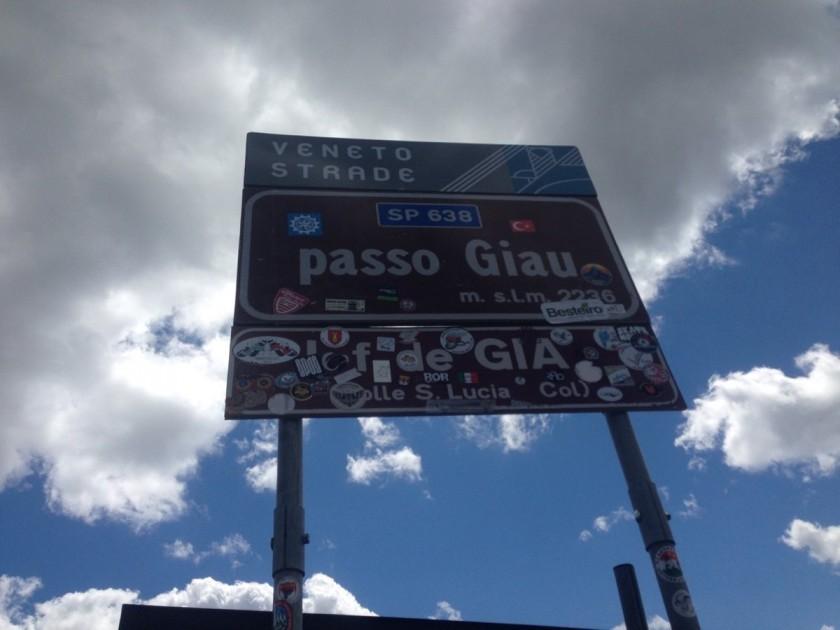 Stoneman Road / Passo Giau (2236m)