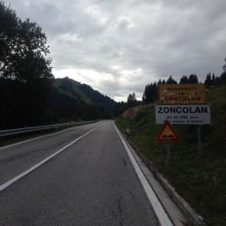 Rennradtour Monte Zoncolan / Neue Strasse von Sutrio
