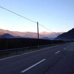 Herbsttour Stilfserjoch / Start in Bozen