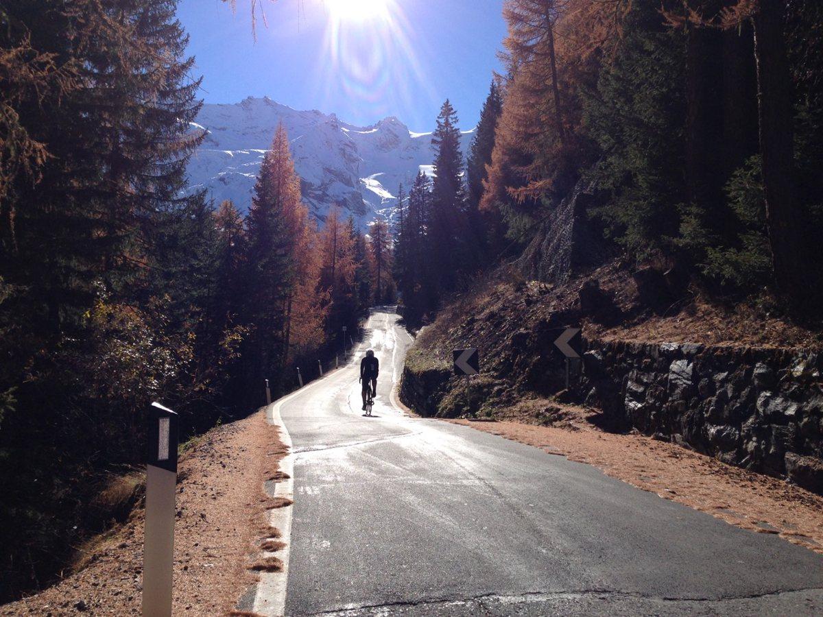 Herbsttour Stilfserjoch / Anlauf nehmen
