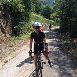 Rennradtour Gardasee / Abkürzung