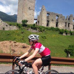 Rennradtour Gardasee / Gaby