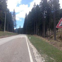 Rennradtour Lugano - Lavaze: 18 Prozent Steigung