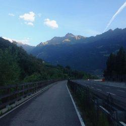 Rennradtour Reschen - Brenner: Meran